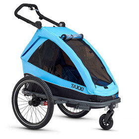 s'cool taXXi Elite Bike Trailer for One blue